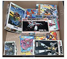 GRP inc Anime plastic kits x eleven: Aoshima