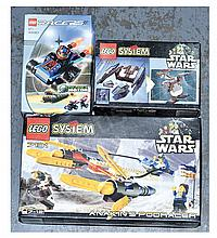 GRP inc Lego Star Wars and Racers: (1) Star Wars