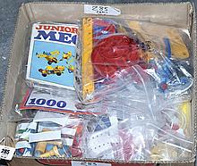 QTY inc Meccano loose construction sets, etc