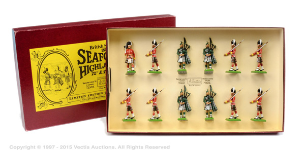 Britains Limited Editions, Set 5185 - Seaforth