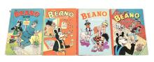 GRP inc four vintage Beano Annuals/Books dating