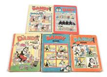 GRP inc five vintage Dandy Annuals/Books dating