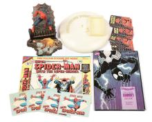 GRP inc vintage Spider-Man related items
