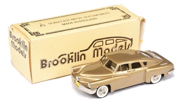 Brooklin Models No.BRK2 1948 Tucker Torpedo