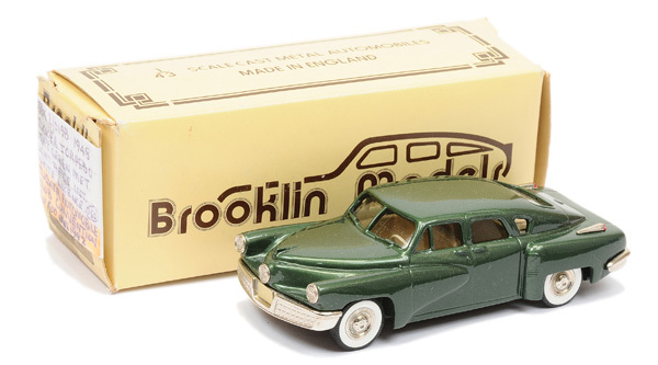 Brooklin Models No.BRK2 1948 Tucker Torpedo