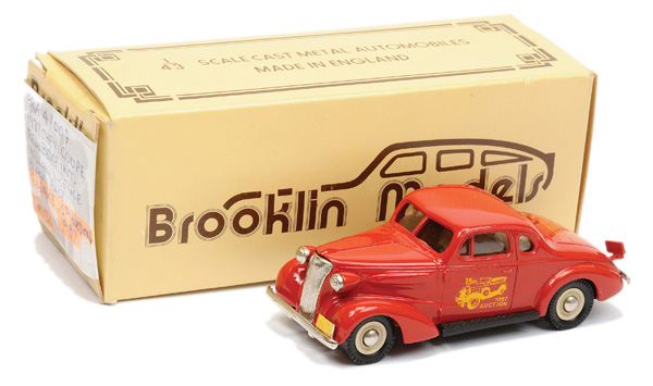 Brooklin Models No.BRK4 1937 Chevrolet Coupe
