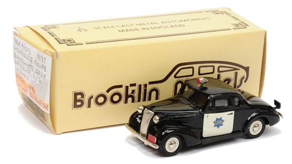 Brooklin Models No.BRK4 1937 Chevrolet Coupe