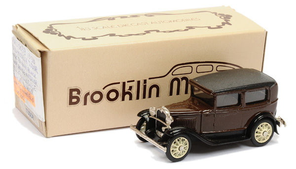 Brooklin Models No.BRK5 1930 Ford Model A Tudor