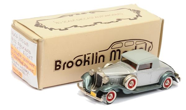 Brooklin Models No.BRK6 1932 Packard Light 8