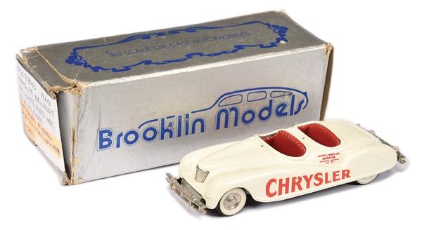 Brooklin Models No.BRK8 1940 Chrysler Newport