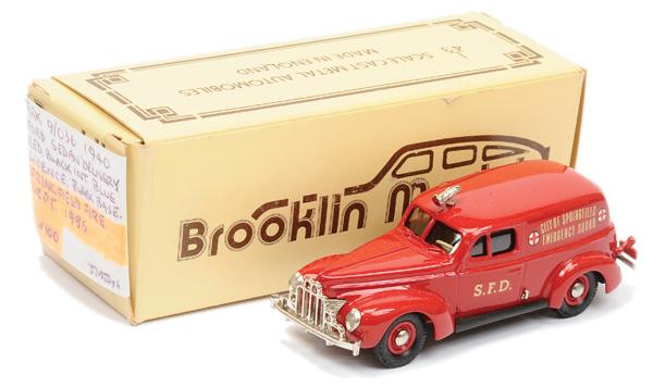 Brooklin Models No.BRK9 1940 Ford Sedan Van
