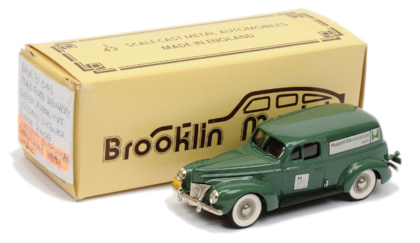 Brooklin Models No.BRK9 1940 Ford Sedan Van