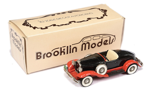 Brooklin Models No.BRK12 1931 Hudson Greater 8