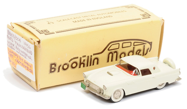 Brooklin Models No.BRK13 1956 Ford Thunderbird
