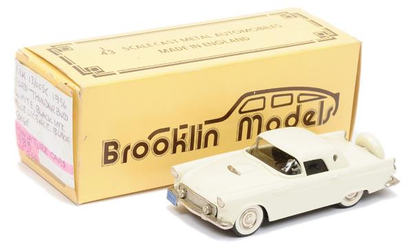 Brooklin Models No.BRK13 1956 Ford Thunderbird