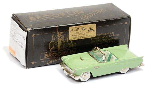 Brooklin Models No.BRK13 1957 Ford Thunderbird