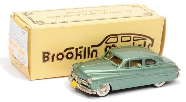 Brooklin Models No.BRK15 1949 Mercury Coupe