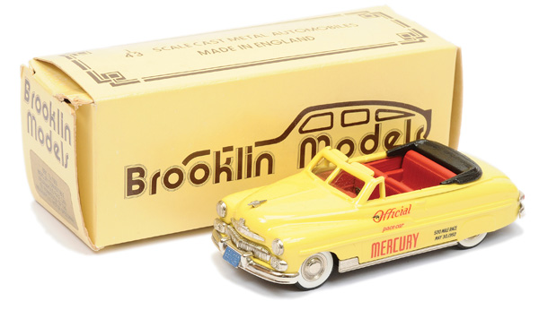 Brooklin Models No.BRK15 Mercury Convertible
