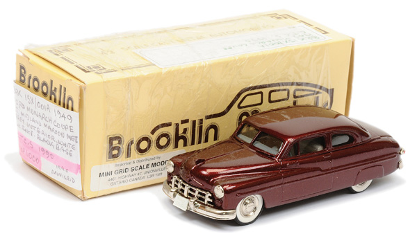 Brooklin Models No.BRK15 1949 Ford Monarch Coupe