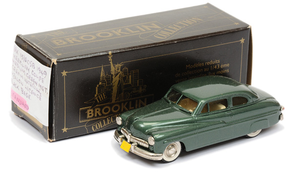 Brooklin Models No.BRK15 1949 Mercury Coupe