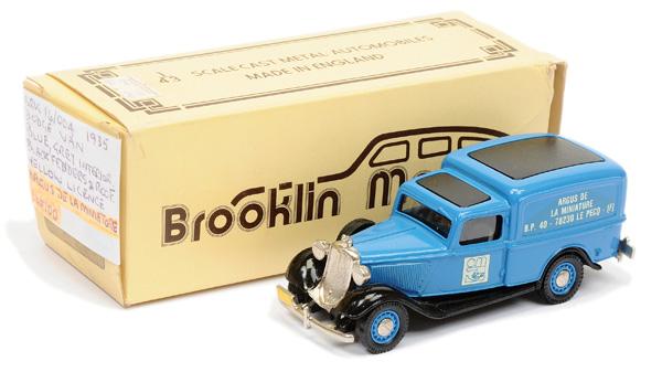 Brooklin Models No.BRK16 1939 Dodge Van