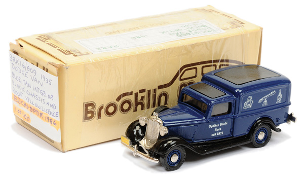 Brooklin Models No.BRK16 1935 Dodge Van