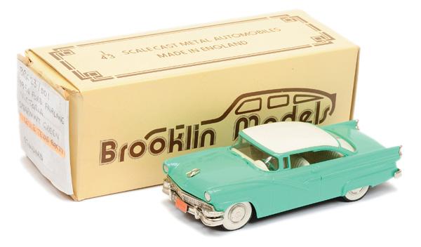 Brooklin Models No.BRK23 1956 Ford Fairlane