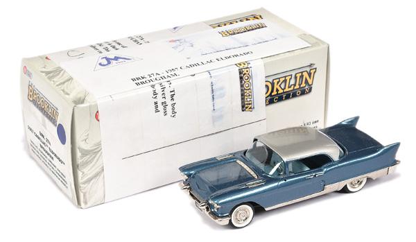 Brooklin Models No.BRK27A 1956 Cadillac