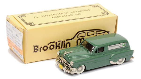 Brooklin Models No.BRK31 1953 Pontiac Van