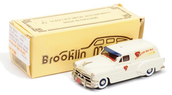 Brooklin Models No.BRK31 1953 Pontiac Van