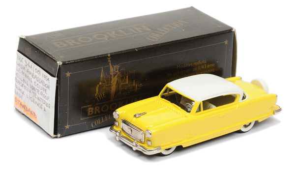 Brooklin Models No.BRK34 Nash Ambassador
