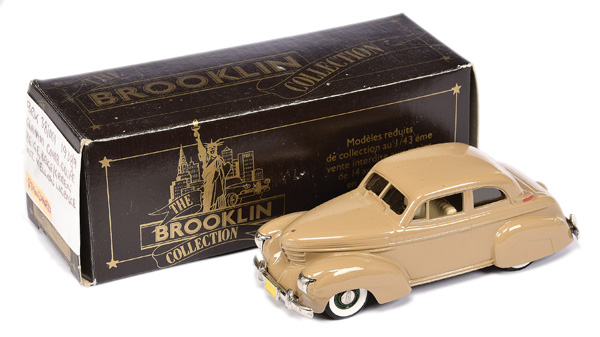 Brooklin Models No.BRK38 1939 Graham Coupe
