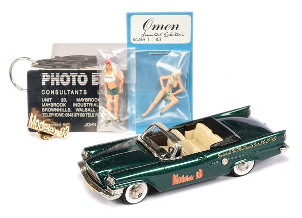 Brooklin Models No.BRK41 1959 Chrysler 300E
