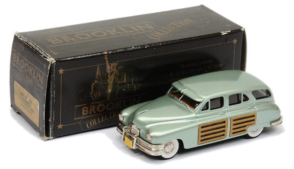 Brooklin Models No.BRK43 Packard Station Sedan