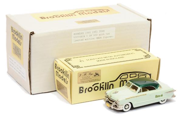 Brooklin Models No.BRK51 Ford Victoria