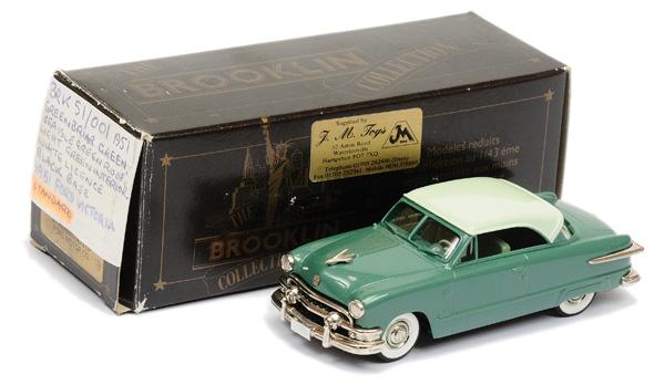 Brooklin Models No.BRK51 1951 Ford Victoria