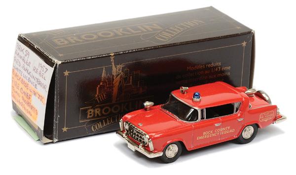 Brooklin Models No.BRK59 1957 Rambler Rebel