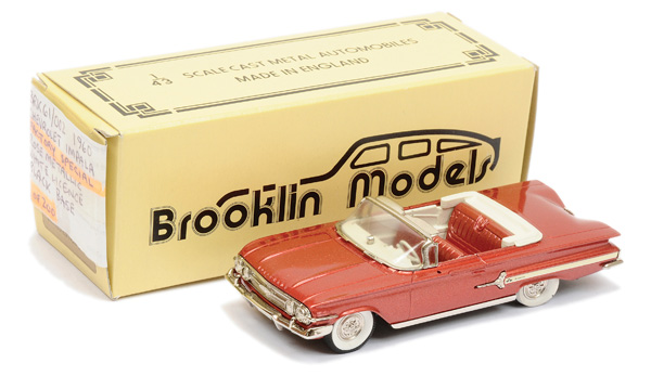 Brooklin Models No.BRK61 1960 Chevrolet Impala