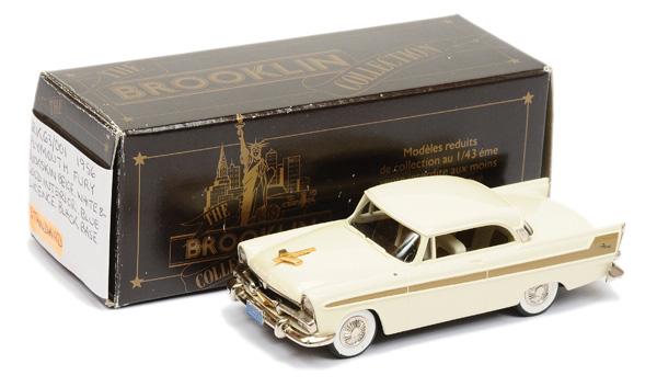 Brooklin Models No.BRK63 1956 Plymouth Fury