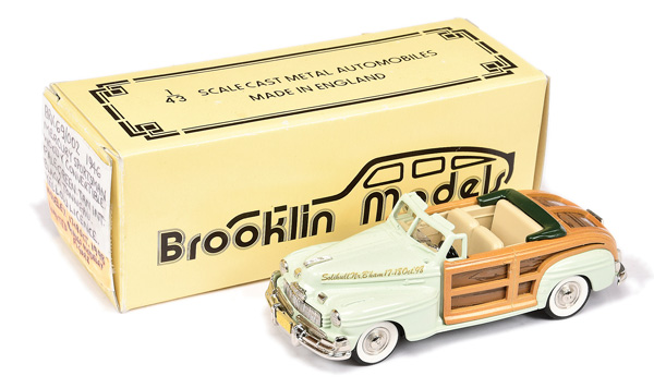Brooklin Models No.BRK69 1946 Mercury Sportsman