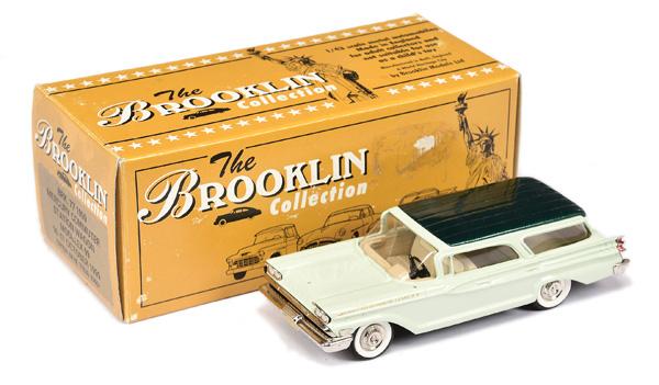 Brooklin Models No.BRK77 1959 Mercury Commuter