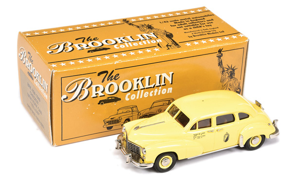 Brooklin Models No.BRK89A 1949 Checker New York