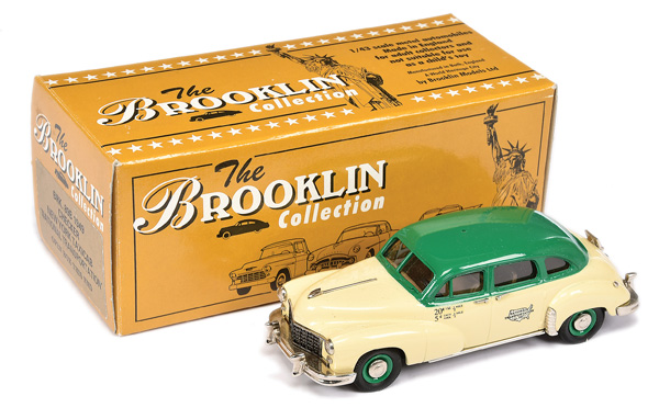 Brooklin Models No.BRK89B 1949 Checker New York