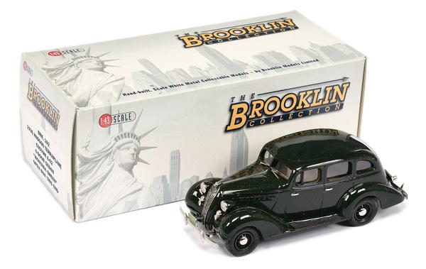 Brooklin Models No.BRK102 1936 Hudson Sedan