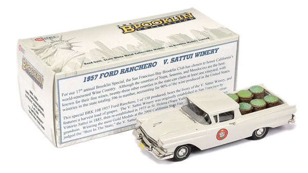 Brooklin Models No.BRK108X 1957 Ford Ranchero