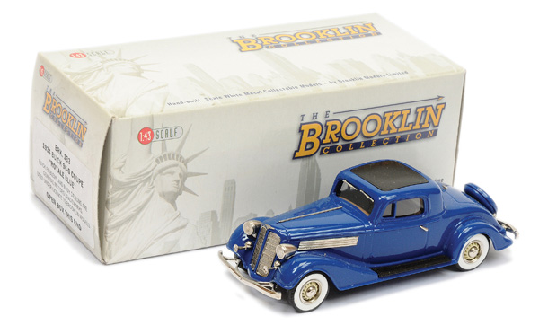 Brooklin Models No.BRK133 1934 Buick Coupe