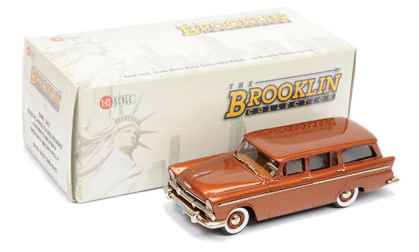 Brooklin Models No.BRK143 1955 Plymouth