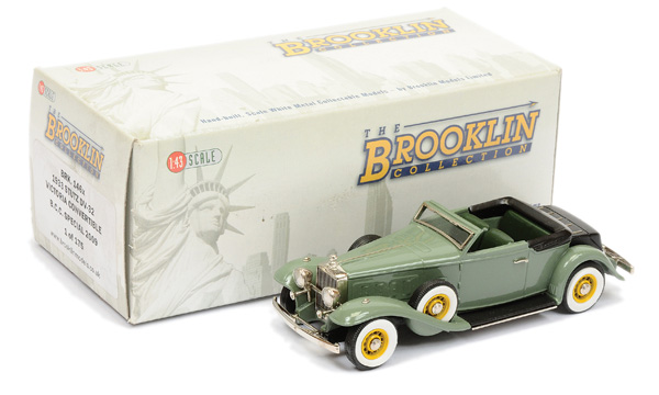 Brooklin Models No.BRK146X 1933 Stutz Victoria