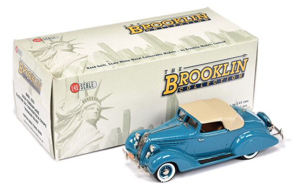 Brooklin Models No.BRK153 1936 Terraplane Coupe