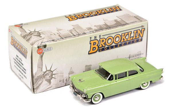 Brooklin Models No.BRK177X 1955 Meteor Coupe